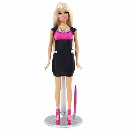 Mattel Barbie 8178Y Барби в электронном платье