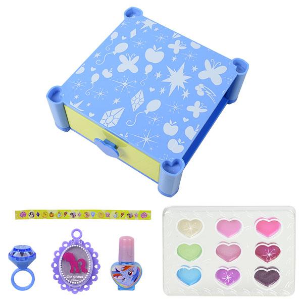 Markwins 9711451 My Little Pony Игровой набор детской декоративной косметики для лица и ногтей