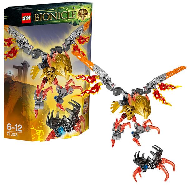 Lego Bionicle 71303 Конструктор Лего Бионикл Икир, Тотемное животное Огня