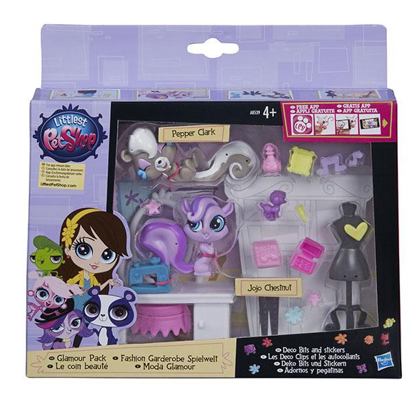 Hasbro Littlest Pet Shop A7642 Литлс Пет Шоп Стильный тематический игровой набор (в ассортименте)