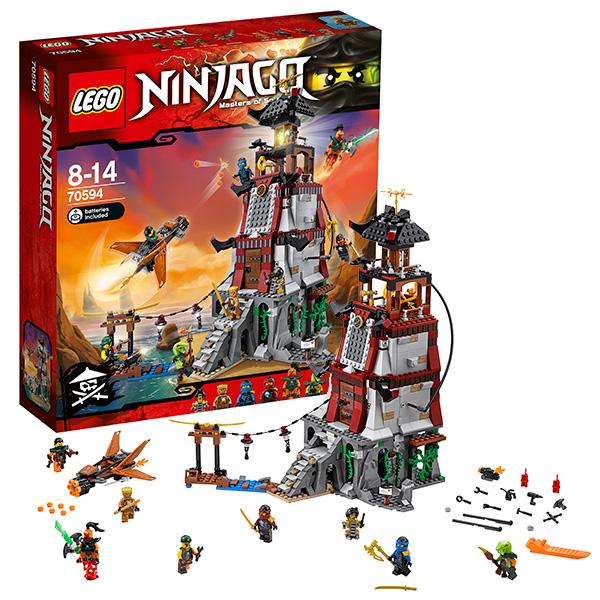 Lego Ninjago 70594_9 Лего Ниндзяго Осада маяка