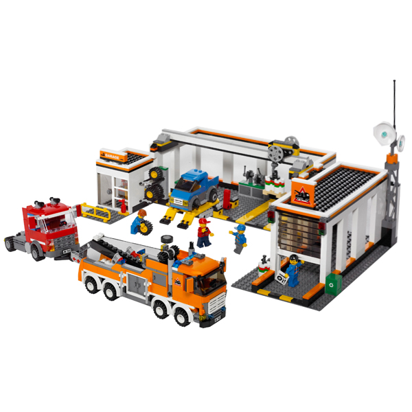Lego City 7642 Конструктор Лего Город Гараж