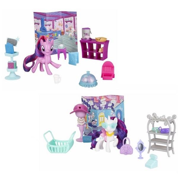 Фото - Hasbro My Little Pony E4967 Май Литл Пони Игровой набор Возьми с собой (в ассортименте) полесье набор игрушек для песочницы 468 цвет в ассортименте