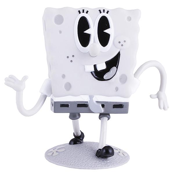SpongeBob EU690701 Спанч Боб ретро (пластик., 11,5 см) фигурка alpha toys spongebob губка боб насмешливый eu691005