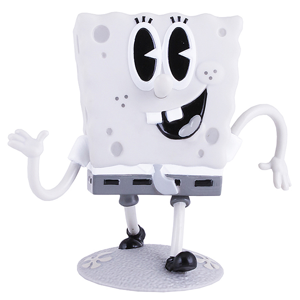 SpongeBob EU690701 Спанч Боб ретро (пластик., 11,5 см) фигурка alpha toys spongebob патрик ретро eu690702