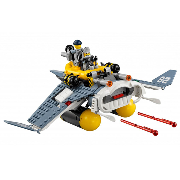 Lego Ninjago 70609 Конструктор Лего Ниндзяго Бомбардировщик Морской дьявол