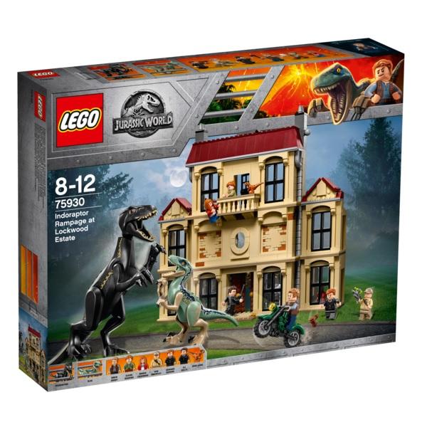 Lego Jurassic World 75930 Конструктор Лего Мир Юрского Периода Нападение индораптора в поместье