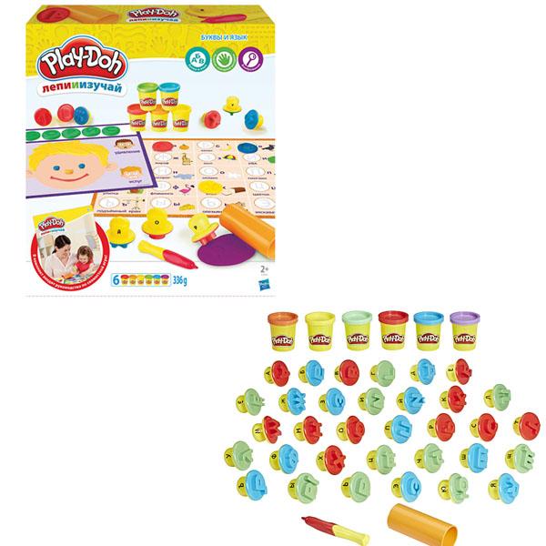 Hasbro Play-Doh C3581 Игровой набор Буквы и языки hasbro play doh b5868 игровой набор главная улица