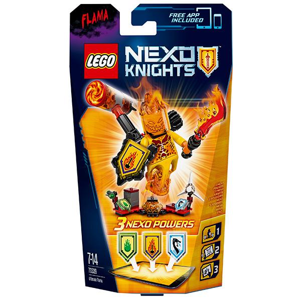 Lego Nexo Knights 70339 Конструктор Лего Нексо Флама- Абсолютная сила