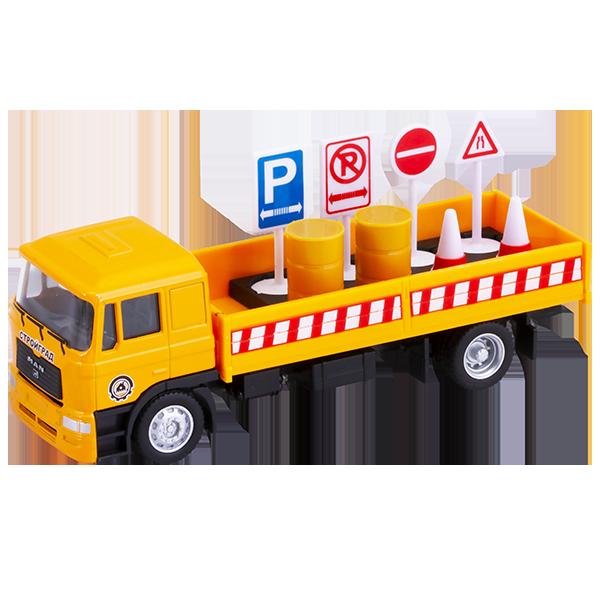 цена на Wincars U1401B-3 Бортовой грузовик с дорожными знаками