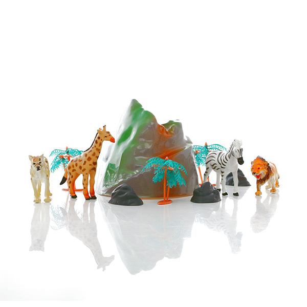 HGL SV3472 Игровой набор диких зверей в тубе фигурка megasaurs брахиозавр 30 см sv17873
