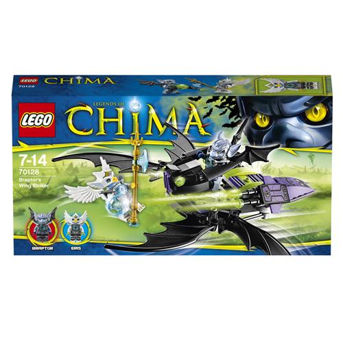 Lego Легенды Чима 70128 Конструктор Крылатый истребитель Браптора