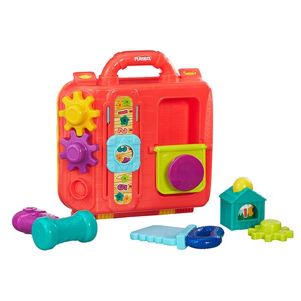 Hasbro Playskool B5845 Возьми с собой Моя первая мастерская развивающая игрушка hasbro playskool возьми с собой веселый щенок