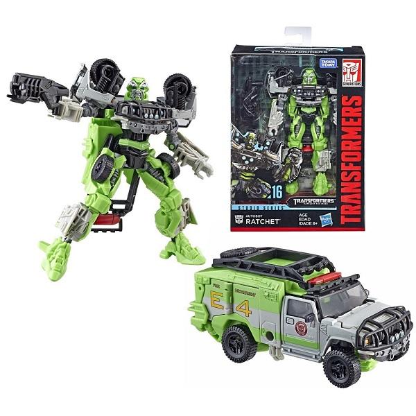 Hasbro Transformers E0701/E0977 Трансформер Коллекционный Автобот Ретчер 20 см hasbro transformers e0701 e0747 трансформер коллекционный автобот локдаум 20 см