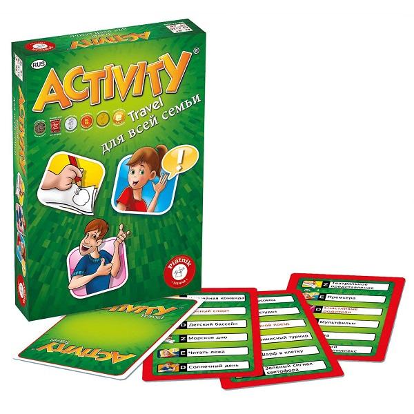 Piatnik 793295 Настольная игра Activity (компактная для всей семьи) миска luminarc квадрато черный 16см 0 4л стекло