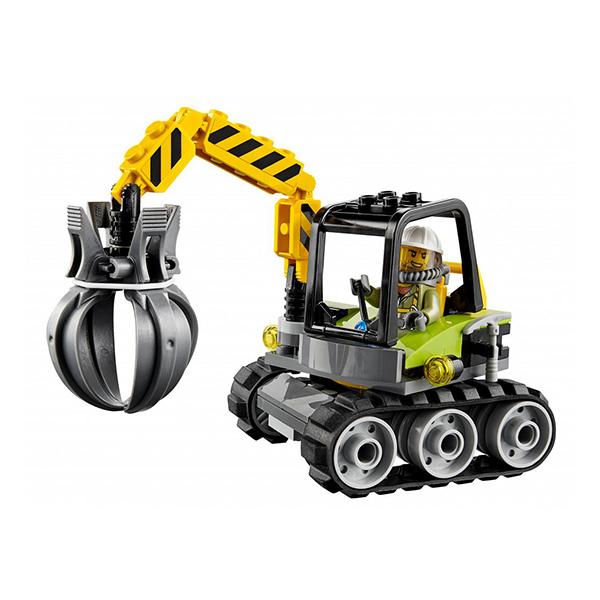 Lego City 60123 Конструктор Лего Город Грузовой вертолёт исследователей вулканов
