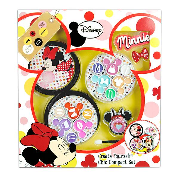 Markwins 9605351 Minnie Набор детской декоративной косметики с футляром markwins набор детской декоративной косметики для ногтей minnie mouse