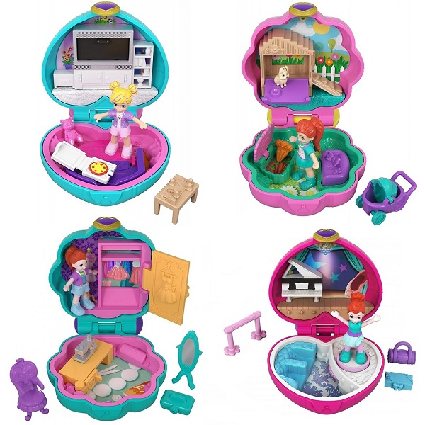 Polly Pocket FRY29 Компактные игровые наборы