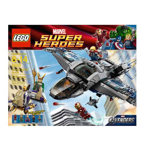 Lego Super Heroes 6869 Конструктор Лего Супер Герои Боевые действия Квинджета