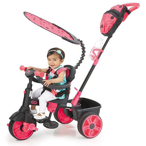 Little Tikes 634321 Литл Тайкс Велосипед 4 в 1, розовый