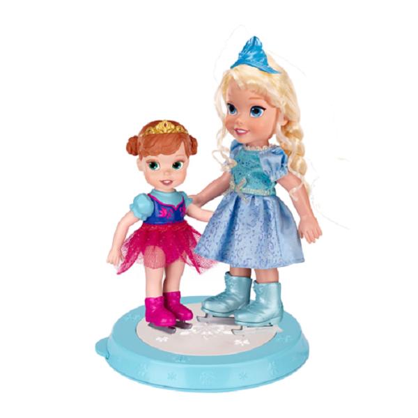 Disney Princess 310180 Принцессы Дисней Холодное Сердце Игровой набор Две куклы 15 см. на катке hasbro кукла рапунцель принцессы дисней
