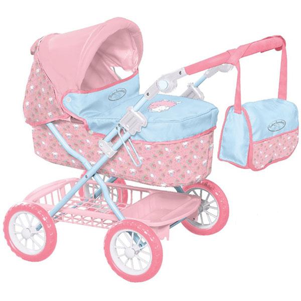 Zapf Creation Baby Annabell 1423482 Бэби Аннабель Коляска делюкс с сумкой, 2017