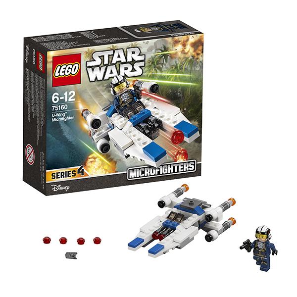 Lego Star Wars 75160 Конструктор Лего Звездные Войны Микроистребитель типа U lego lego star wars microfighters 75160 микроистребитель типа u