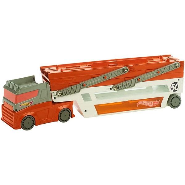 Mattel Hot Wheels FTF68 Хот Вилс Мега-грузовик mattel hot wheels dww97 хот вилс конструктор трасс разводной мост