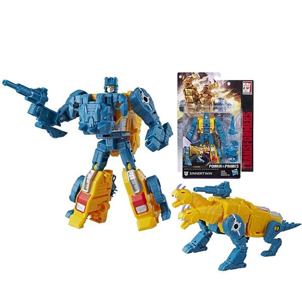 Hasbro Transformers E0595/E1133 Трансформеры ДЖЕНЕРЕЙШНЗ ДЕЛЮКС Синнертвин роботы transformers трансформеры 5 делюкс когман