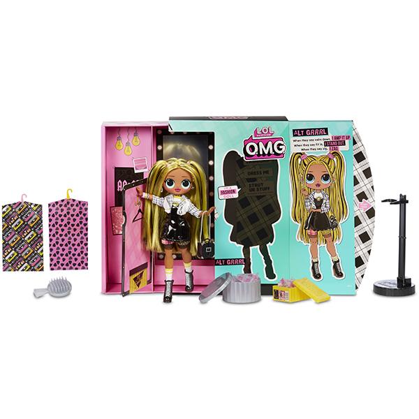 L.O.L. Surprise 565123 Кукла ЛОЛ OMG Alt Grrrl 2 волна 23 см.