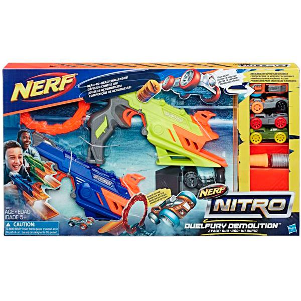 Hasbro Nerf Nitro C0817 Нерф Нитро Дуалфьюри