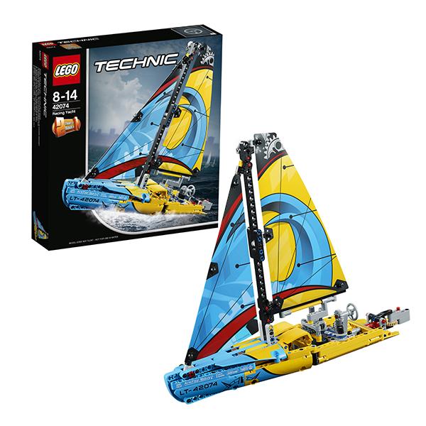 LEGO Technic 42074 Конструктор ЛЕГО Техник Гоночная яхта
