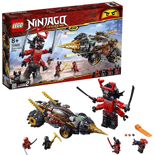 Lego Ninjago 70669 Конструктор Лего Ниндзяго Земляной бур Коула mb770dfnfax 45387404