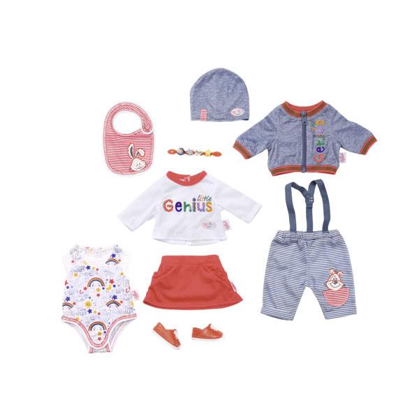 Zapf Creation Baby born 826-928 Бэби Борн Одежда супер набор Делюкс zapf creation baby secrets 930 328 бэби секрет набор с садовыми качелями