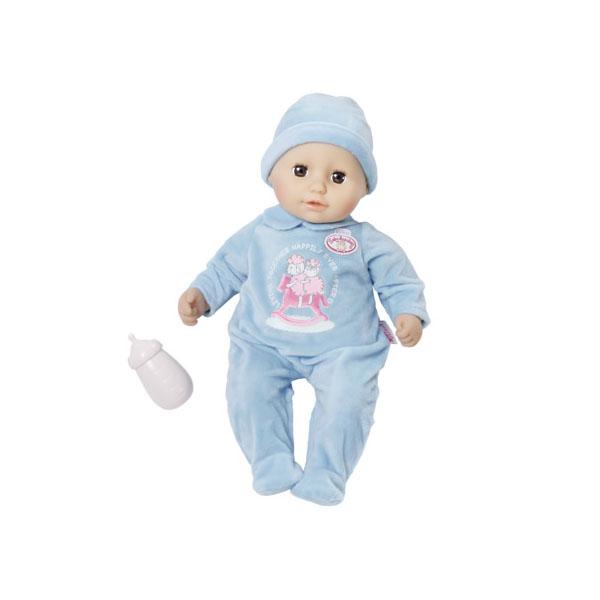Zapf Creation my first Baby Annabell 700-549 Бэби Аннабель Кукла-мальчик с бутылочкой, 36 см