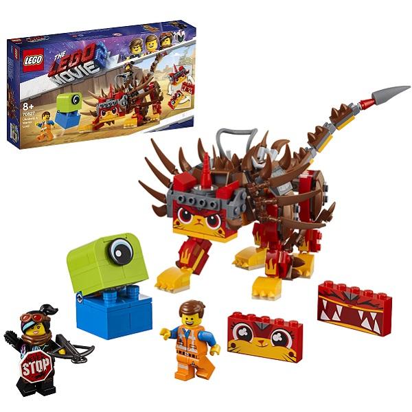 LEGO Movie 2 70827 Конструктор ЛЕГО Фильм 2 Ультра-Киса и воин Люси конструктор lego ультра киса и воин люси 70827 lego movie 2