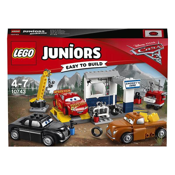 Lego Juniors 10743 Конструктор Лего Джуниорс Тачки Гараж Смоуки