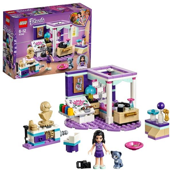 Lego Friends 41342 Конструктор Лего Подружки Комната Эммы