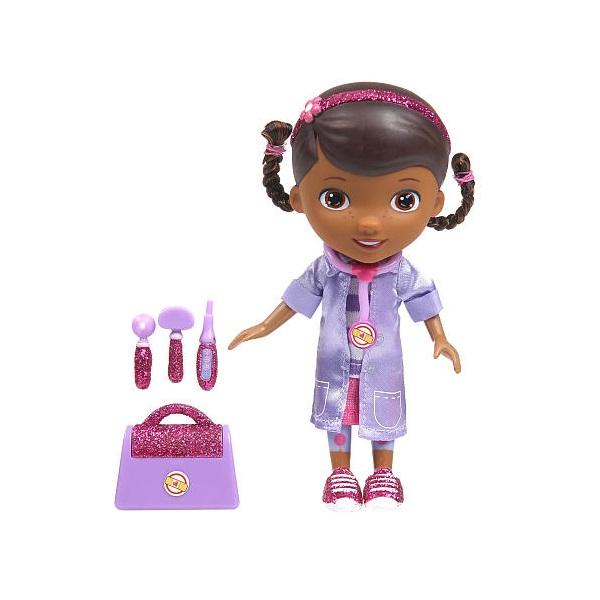 Disney игровые наборы disney игрушка доктор плюшева чемоданчик доктора