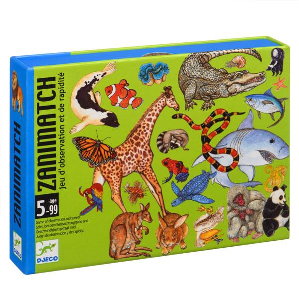 """DJECO DJ05153 Детская настольная карточная игра """"Занимач"""" недорого"""