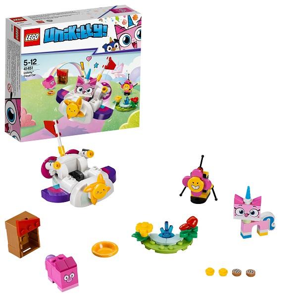 цена на LEGO Unikitty 41451 Конструктор ЛЕГО Юникитти Машина-облако Юникитти