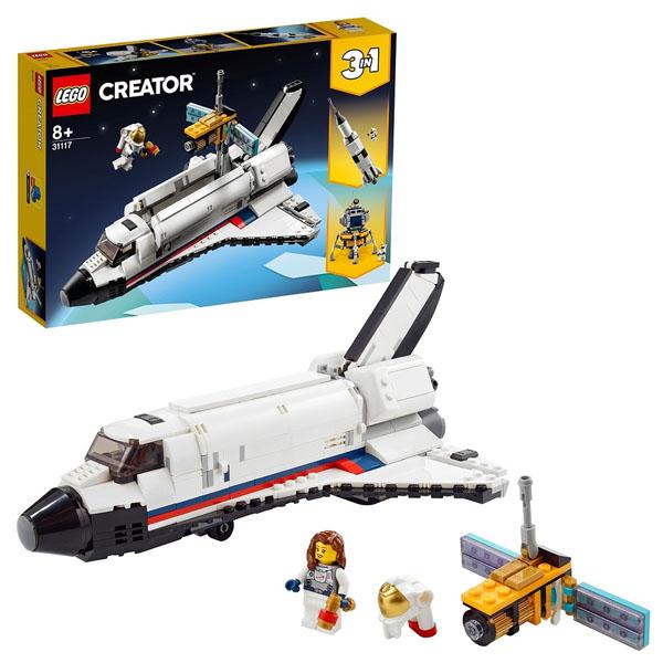 LEGO Creator 31117 Конструктор ЛЕГО Криэйтор Приключения на космическом шаттле