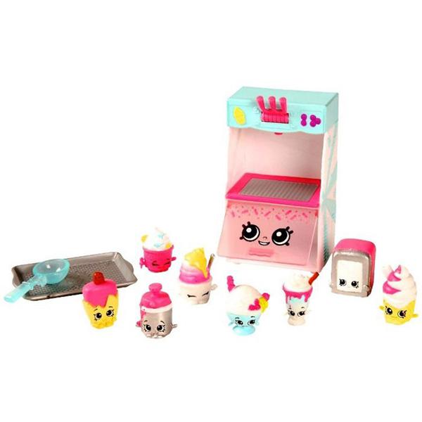 Shopkins 56110 Шопкинс Игровой набор Ярмарка вкусов Коллекция мороженого