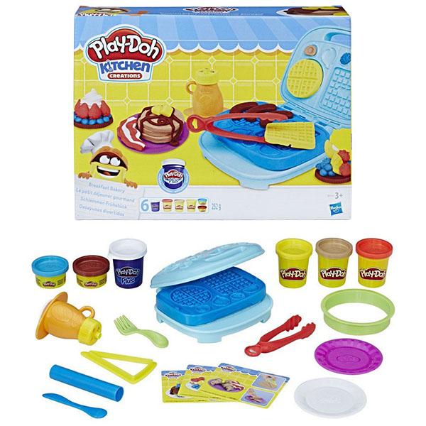 Hasbro Play-Doh B9739 Игровой набор Сладкий завтрак набор для лепки play doh сладкий завтрак 6 цветов b9739