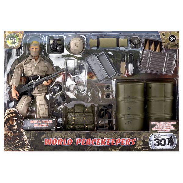"World Peacekeepers MC90602 Игровой набор ""Разведчик"" 1:6"