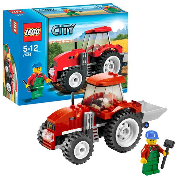 LEGO City 7634 Конструктор ЛЕГО Город Трактор
