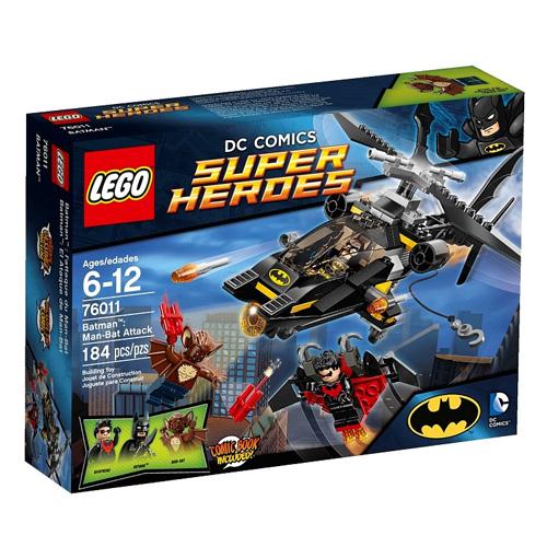Lego Super Heroes 76011 Конструктор Лего Супер Герои Мэн-Бэт атакует