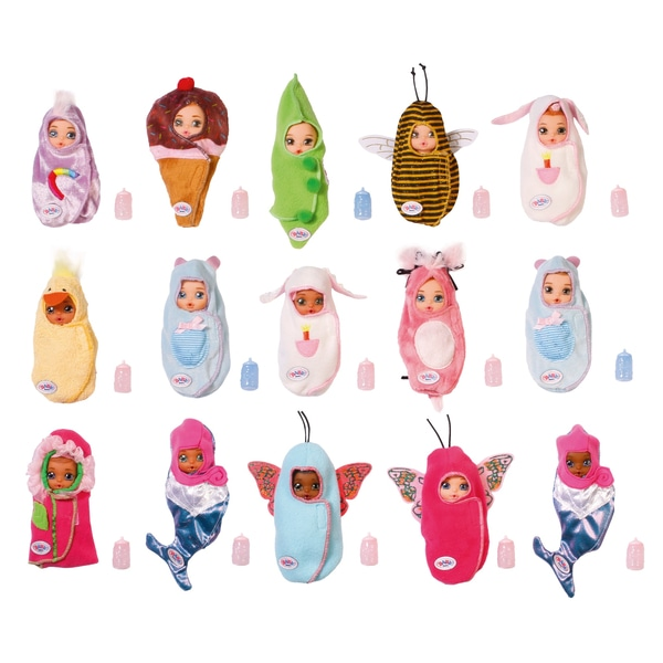Zapf Creation Baby Born Surprise 904-091 Бэби Борн Сюрпрайз Кукла,2 серия (в ассортименте)