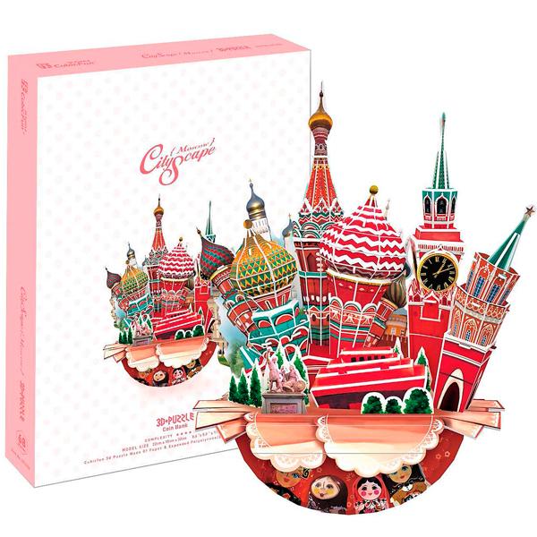 Cubic Fun OC3206h Кубик фан Городской пейзаж - Москва cubic fun p651h кубик фан лунный модуль корабля
