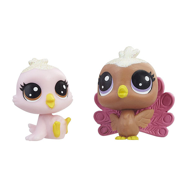 Hasbro Littlest Pet Shop E0399 Литлс Пет Шоп Набор игрушек 2 Зефирных Пета